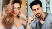 Disha Patani has hair and make-up on point for friend's wedding, Tiger Shroff reacts