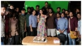 KGF star Srinidhi Shetty wraps up shooting of Vikram's Cobra. See pics