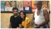 Kajal Aggarwal visits her favourite mess in Pollachi with Gautam Kitchlu. See pics