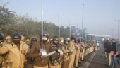 Delhi Police clarifies after photos of cops with steel lathis go viral, says no approval was given