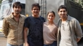 Ranbir Kapoor, Alia Bhatt and Nagarjuna shoot for Brahmastra in Mumbai. See pics