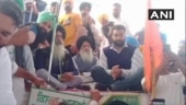 R-Day violence accused Lakha Sidhana seen at a rally in Amarinder Singh's hometown in Punjab
