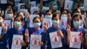 Protests against Myanmar junta spread despite arrests