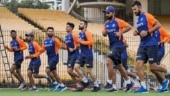 Virat Kohli leads Team India in practice session as hosts get 'match ready' for 1st Test against England