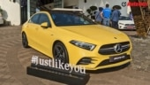 Made in India Mercedes-AMG A35 sedan launch on March 25