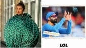 Priyanka Chopra's green ball dress inspires memes. The Virat Kohli one tops our list