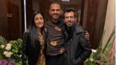 Yuzvendra Chahal visits Shikhar Dhawan with wife Dhanashree Verma: 'Best host Great dost'