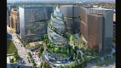 Amazon reveals plans to make its Arlington headquarters look like a spiral vertical forest
