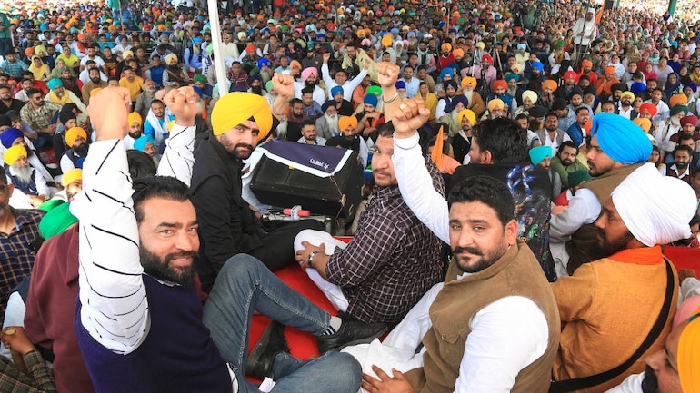 R-Day violence accused Lakha Sidhana, seen at Bathinda rally, releases new video - India News