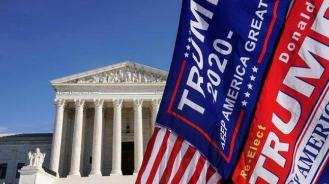 Supreme Court officially turns down Trump election obstacle cases
