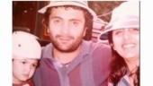 Rishi and Neetu Kapoor in a major throwback pic with daughter Riddhima