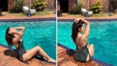 Raashi Khanna stuns in olive-green swimsuit in new pictures from Goa. Life is good