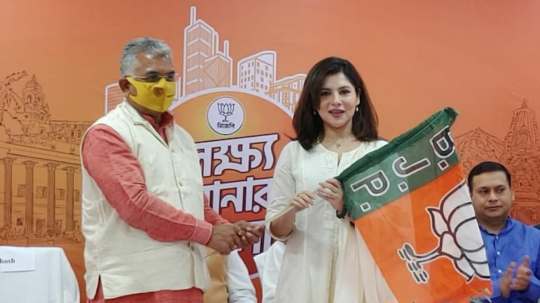 Bengali actor Payel Sarkar joins BJP ahead of Assembly election - Elections  News