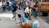 Watch: Chaos over chaat in UP's Baghpat as vendors clash over customers