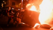 Barcelona up in arms as thousands burn barricades, clash with police over jailing of Spanish rapper