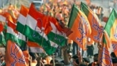BJP and Congress workers clash in Vadodara, attack each other with sticks