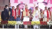 In Assam, Amit Shah says will fulfil promises made to surrendered Karbi militants within a year