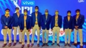 MS Dhoni's 'definitely not' t-shirt at IPL 2021 Auction: L Balaji, CSK owners sport special attire in Chennai