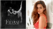 Elli AvrRam shares new poster of her song Fidaai. Disha Patani reacts