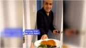 Man treats daughter to yummy dishes during Work From Home. Viral video