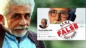 Fact Check: The man who was playing double role of Naseeruddin Shah and Rakesh Tikait on Twitter