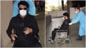 Why was Kapil Sharma in a wheelchair at Mumbai airport?