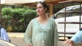 Pregnant Kareena Kapoor glows in floral kaftan dress for Yash and Roohi's birthday party