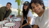 Katrina shares BTS pics with Ishaan Khatter, Siddhant Chaturvedi from Phone Bhoot sets
