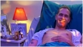 You think this viral pic features a man on a hospital bed? Well, it's actually cake