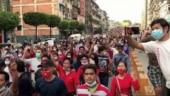 Thousands protest Myanmar coup despite internet ban