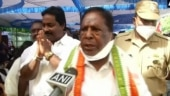 Oppn petitions Lt Guv's office, asks Puducherry CM Narayanasamy to prove majority in Assembly