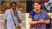 Neena Gupta in shirt and shorts goes for shopping. See Smriti Irani's comment on her post