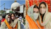 Sara Ali Khan visits Ajmer Sharif with mom Amrita Singh, says jumma mubarak