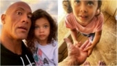 Dwayne Johnson told his daughter that he is a dinosaur. See her reaction in viral post