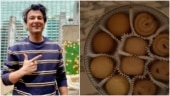Vikas Khanna opens a tin of cookies in viral video. The caption will make you nostalgic