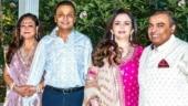Tina Ambani wishes Mukesh and Nita Ambani on wedding anniversary with rare pics. See post