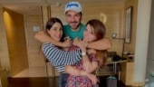 Rubina Dilaik captures moment with Abhinav Shukla and Nikki Tamboli, her two favourites