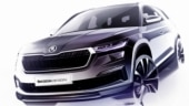 New Skoda Kodiaq to make global debut on April 13, exterior details revealed in new design sketches