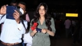 Janhvi Kapoor's staff stops fan from taking selfie at airport. Watch what happens next