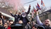 Armenian protesters break into government building to demand PM's exit
