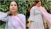 Hina Khan in this Rs 5k floral kurta is the perfect choice for ethnic wear in summer