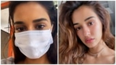 Disha Patani reminds you to wear your mask from Ek Villain Returns sets