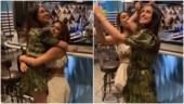 Krystle D'Souza dances to Ek Hazaaron Mein Meri Behna Hai with Nia Sharma on birthday