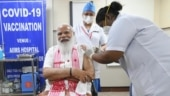 PM Modi takes Bharat Biotech's Covaxin shot at AIIMS, appeals to those eligible to get vaccinated | Watch