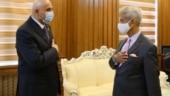 Jaishankar calls on Tajikistan Speaker; discusses parliamentary support for Indo-Tajik cooperation