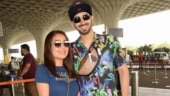 Neha Kakkar remembers her pre-wedding shoot as paps click her and Rohanpreet at airport