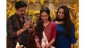 Dileep and Kavya Madhavan host birthday party for Meenakshi. Viral pics