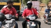 Tamil Nadu man rides scooter blindfolded to campaign for AIADMK minister