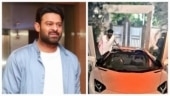 Prabhas buys new luxury car worth Rs 6 crore, goes on a ride in Hyderabad. Viral video