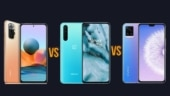 Redmi Note 10 Pro Max vs OnePlus Nord vs Vivo V20 Pro: Price, cameras, battery and other features compared